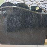Karjala must hauakivi 40x60 mudel terav laine
