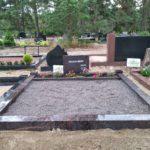 Pruun karjala graniit hauapiirded tallinna kalmistul